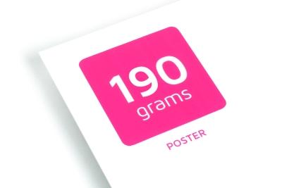 Prachtige posters printen op ons luxe 190 grams posterpapier