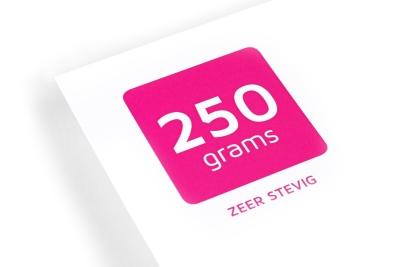 Bestel nu je prints op 250 grams papier bij online printshop