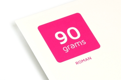 Print your reading books on Roman 90 grams cream paper