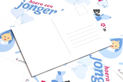 Delivered quickly, sending your birth cards quickly