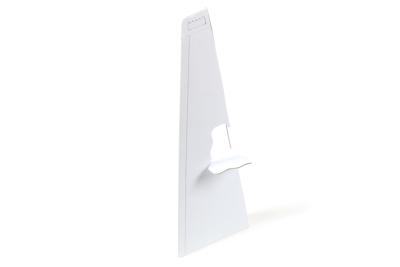 A cardboard easel