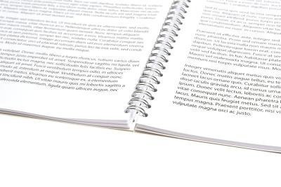 Laat gemakkelijk je PDF printen en inbinden.