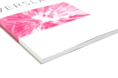 Wij printen en binden je verslag razendsnel