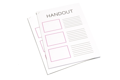 Handouts makkelijk printen in Amsterdam