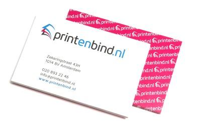 Je eigen visitekaartjes voordelig laten bedrukken in Amsterdam