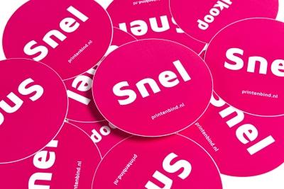 Goedkoop stickers bestellen in Amsterdam