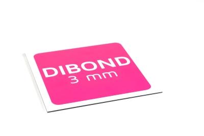 Order dibond panel as 3 mm