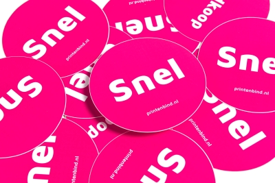 Stand out with your stickers: order your own design quickly