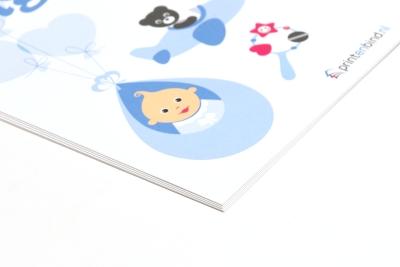 Print je geboortekaartje met eigen ontwerp of foto