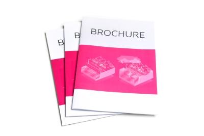 Laat brochures in alle soorten en maten printen