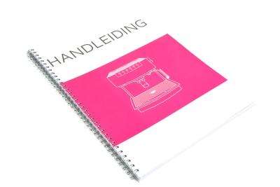 Laat je handleiding in hoge kwaliteit afdrukken