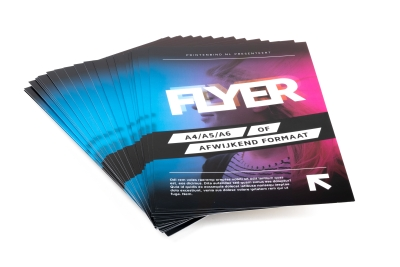 Choose the size of your flyers