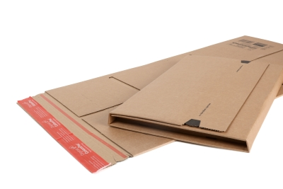 A foldable mailbox packaging