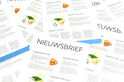 Print your newsletter in color or black and white