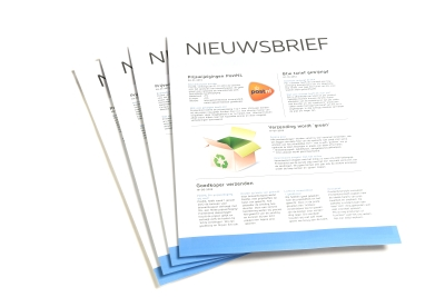 Have your newsletter printed online
