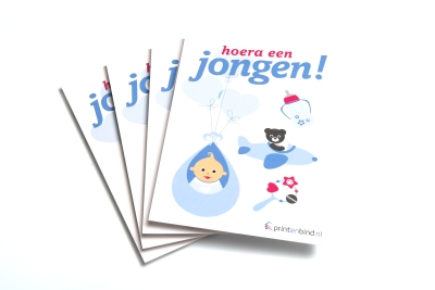 Geboortekaartjes goedkoop online printen