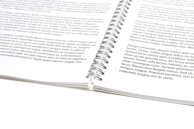 Reader printen en inbinden met een ringband