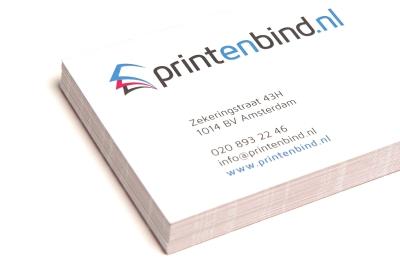 Goedkoop een grote- of kleine oplage visitekaartjes printen