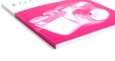 Cropped or cutted book: borderless printing