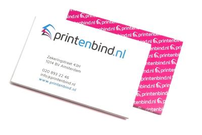 Laat jouw eigen ontworpen afsprakenkaart snel printen