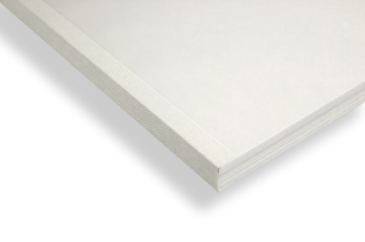 White linen thermal binding