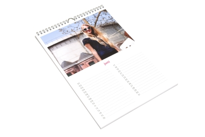Cheap and fast calendar printing and binding