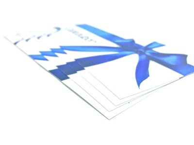 Print low-priced and high quality vouchers