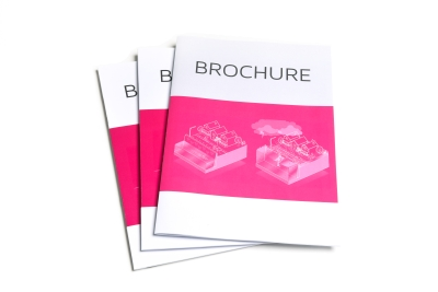 Have your brochures printed in all kinds and sizes