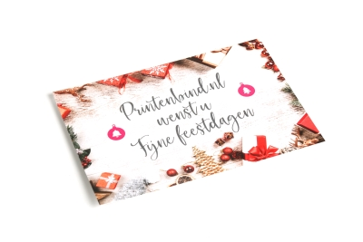 Order a Christmas card with photo or print New Year's cards