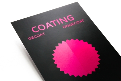 Coating in specific places for a beautiful shine