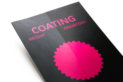 Hoogglans coating voor over je documenten