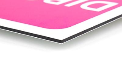 Monopoly spelbord laten bedrukken op stevig Dibond materiaal
