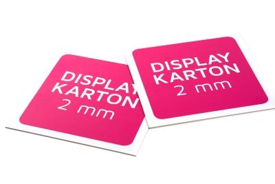 Laat display karton voordelig bedrukken, geschikt voor bedrukt bord