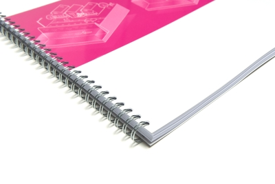 Printed college notebook with own design delivered quickly