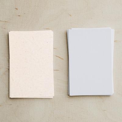 Kraft, wit papier of polyester blanco stickervel kopen