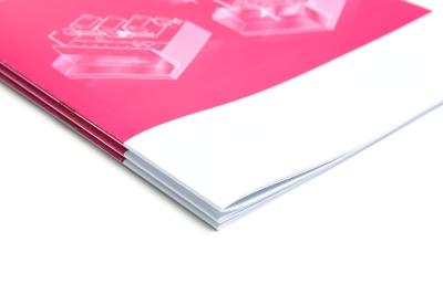 Online je drukwerk vouwen en nieten