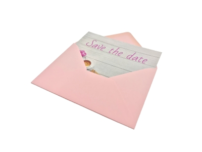 Now also save the date cards with envelope!