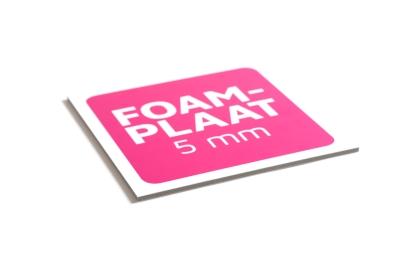 Gladde foamplaat online kopen, zeer stevig en licht