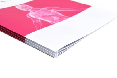 Vouwen van printwerk, zoals folders of kaarten