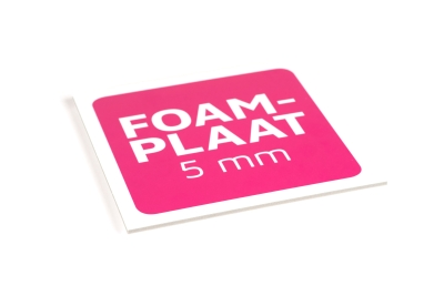 Foamboards are available in 5 mm