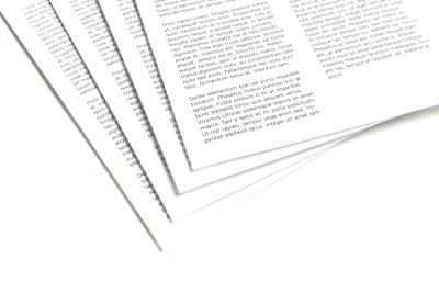 Geprinte gedichten binnen twee werkdagen thuis bezorgd
