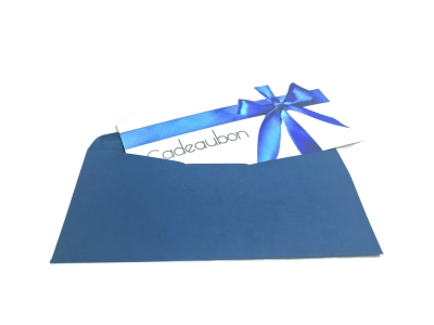 Order gift cards including envelope