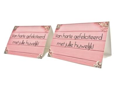 Eigen ontwerp trouwkaarten online drukken