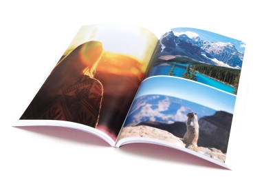 Print travel guides with photos, images and maps quickly online