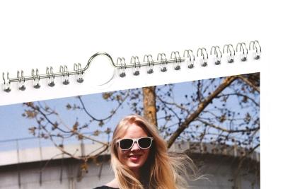 Kalender met kalenderhaak laten drukken