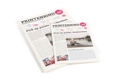Druk gemakkelijk je krant op roman biotop creme papier!