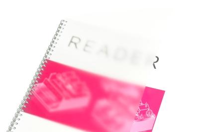 Een A3 boek binden met een transparant schutblad