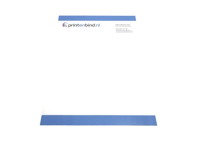 You can print printed business letterhead online