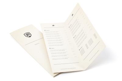 Bestel online je menukaarten