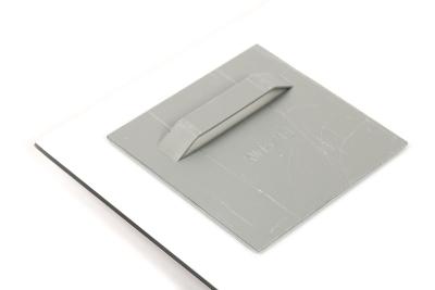 Bestel eenvoudig online metalen montage platen